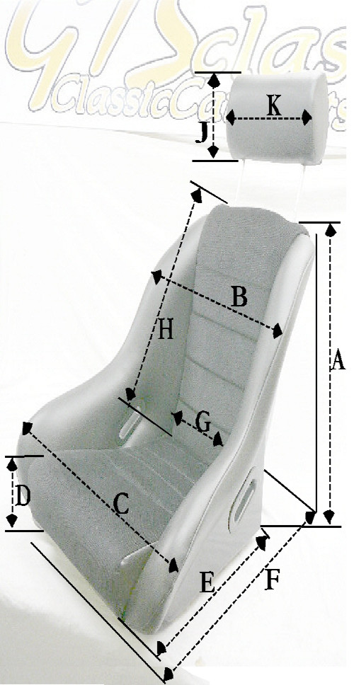 GTS Classics seats Weight and dimensions